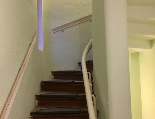 Das Farbkonzept ist voll aufgegangen, und das Wichtigste: der Treppenlift ist eingebaut!